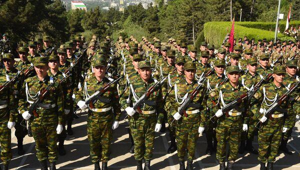 Парад Победы 9 мая в Душанбе - Sputnik Тоҷикистон