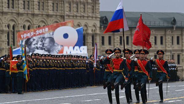 Парад на Красной Площади в Москве - Sputnik Тоҷикистон