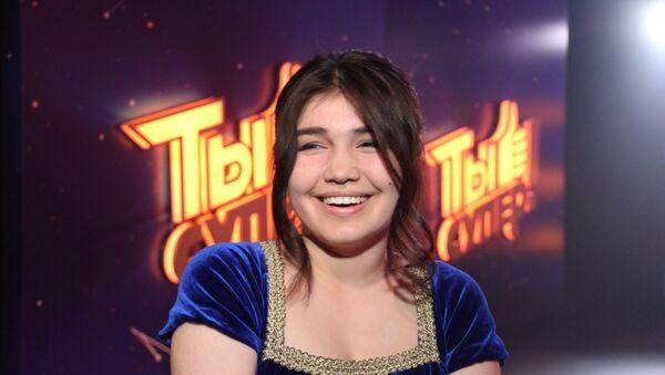Мехрона Гайбуллоева на международном конкурсе Ты супер! - Sputnik Таджикистан