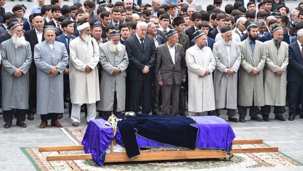 Похороны Бозора Собира - Sputnik Таджикистан