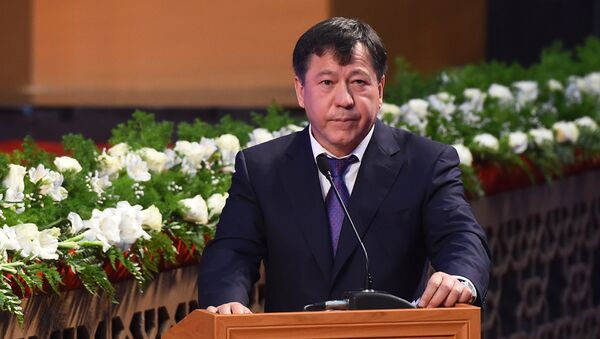 Министр МВД Таджикистана Рахимзода Рамазон Хамро - Sputnik Таджикистан