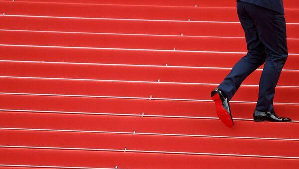 Гость на красной дорожке 71-го Каннского международного кинофестиваля - Sputnik Тоҷикистон