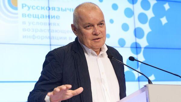 Генеральный директор МИА Россия сегодня Дмитрий Киселев - Sputnik Таджикистан