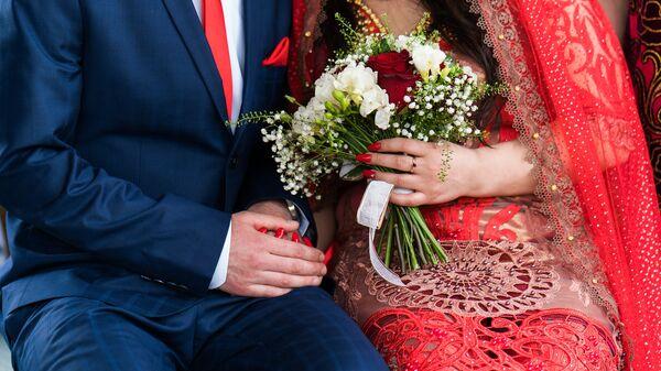 Таджикская свадьба в Москве Хангомы и Халима - Sputnik Тоҷикистон