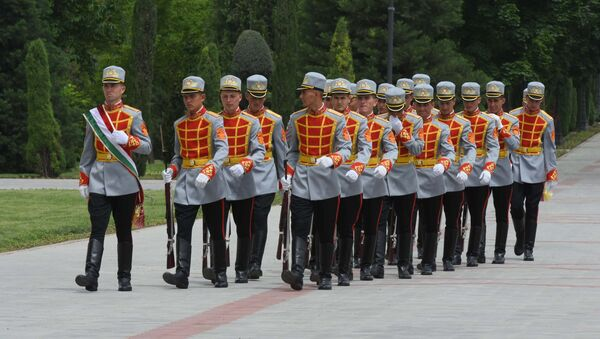 Национальная гвардия Таджикистана, архивное фото - Sputnik Тоҷикистон