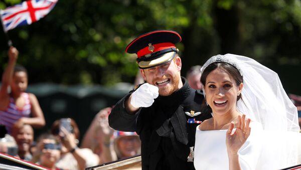 Свадьба в Лондоне принца Гарри и актрисы Меган Маркл - Sputnik Таджикистан