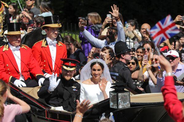 Свадьба принца Гарри и актрисы Меган Маркл - Sputnik Таджикистан