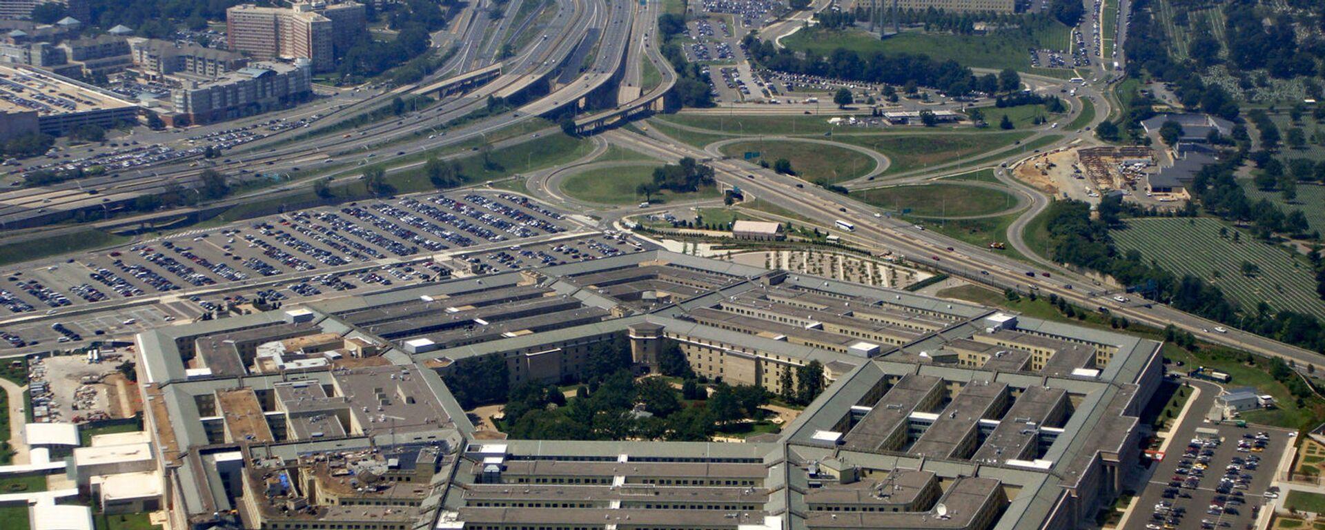 Здание Пентагона в США - Sputnik Тоҷикистон, 1920, 11.08.2021