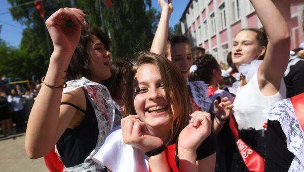 Празднование последнего звонка - Sputnik Таджикистан