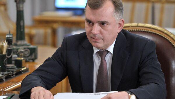 руководитель Пограничной службы ФСБ РФ Владимир Кулишов - Sputnik Таджикистан