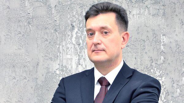 Начальник сектора военной политики и экономики Российского института стратегических исследований (РИСИ) Иван Коновалов - Sputnik Таджикистан
