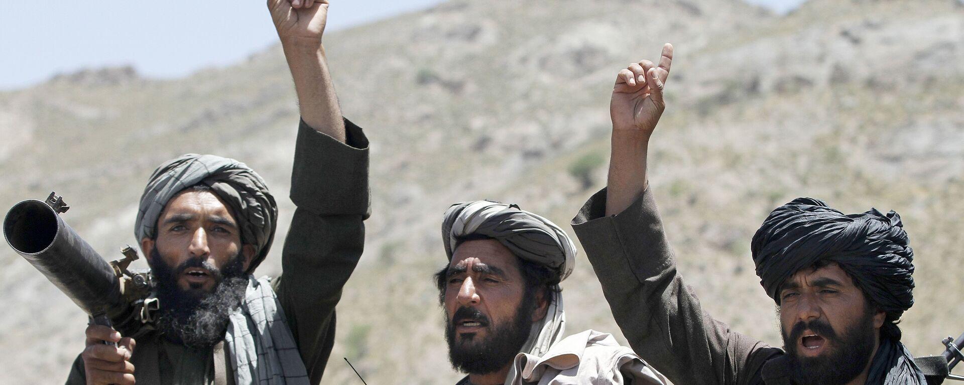 Члены движения Талибан, архивное фото - Sputnik Таджикистан, 1920, 01.06.2021