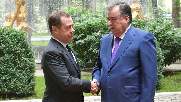 Рабочий визит премьер-министра РФ Д. Медведева в Таджикистан - Sputnik Тоҷикистон