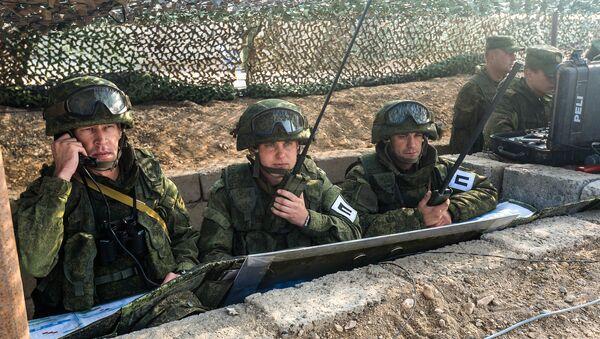 Военные учения в Таджикистане, архивное фото - Sputnik Таджикистан