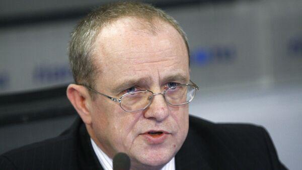 Директор Департамента развития интеграции Евразийской экономической комиссии  Сергей Шухно - Sputnik Таджикистан