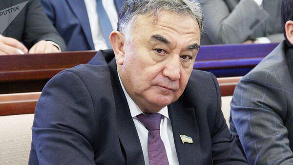 Председатель Комитета по экологии и охране окружающей среды Олий Мажлиса Борий Алиханов - Sputnik Таджикистан