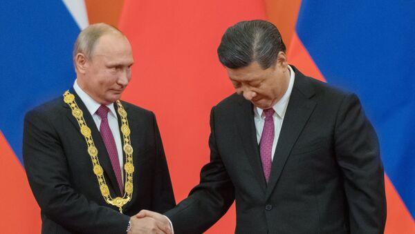 Государственный визит президента РФ В. Путина в Китай - Sputnik Таджикистан