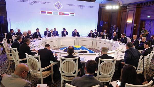 Заседание глав МИД стран ОДКБ - Sputnik Таджикистан
