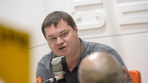 Андрей Малосолов на радио Sputnik. - Sputnik Таджикистан