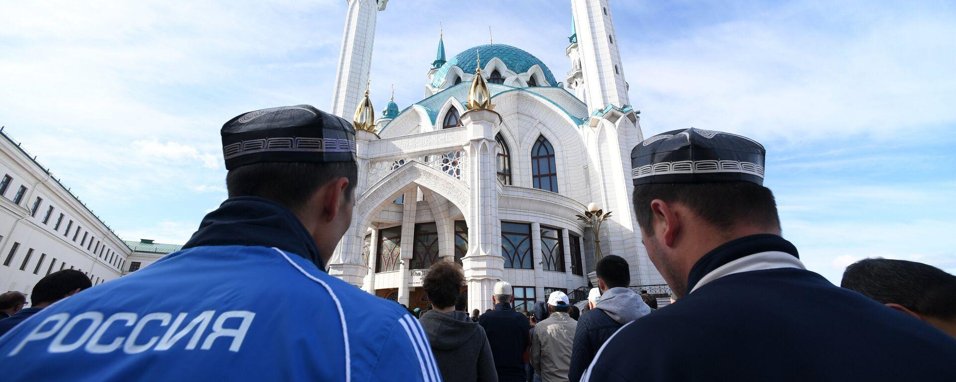 Празднование Ураза-байрам - Sputnik Таджикистан, 1920, 15.07.2021