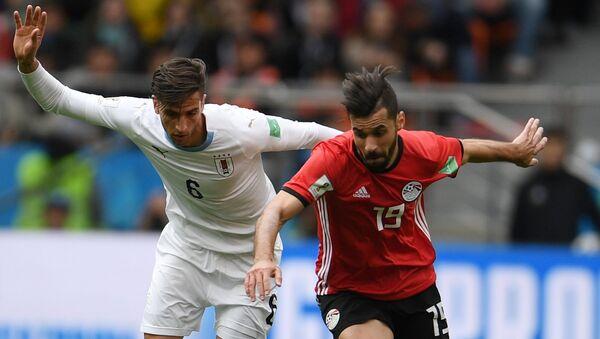 Футбол. ЧМ-2018. Матч Египет - Уругвай - Sputnik Таджикистан