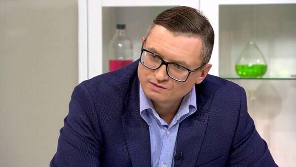 Клинический психолог, ведущий телеканала Доктор и руководитель центра СтопТабак Михаил Хорс - Sputnik Таджикистан