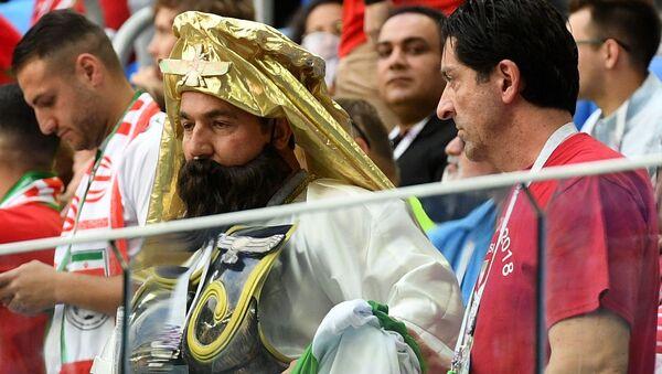 Болельщики перед началом матча группового этапа чемпионата мира по футболу между сборными Марокко и Ирана - Sputnik Тоҷикистон