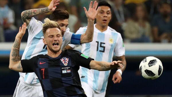 Футбол. ЧМ-2018. Матч Аргентина - Хорватия - Sputnik Таджикистан