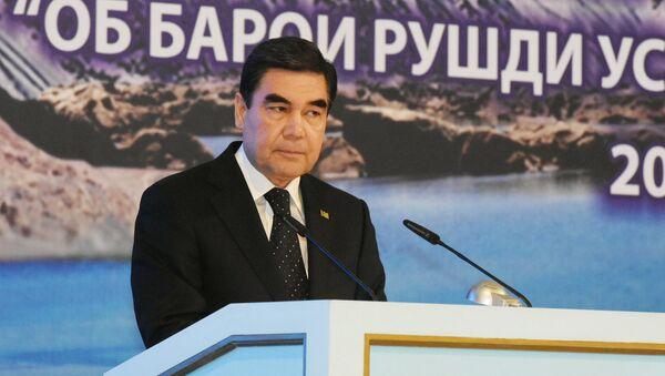 Президента Туркменистана Гурбангулы Бердымухамедов - Sputnik Таджикистан
