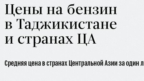 Цены на бензин в Таджикистане и странах ЦА - Sputnik Таджикистан