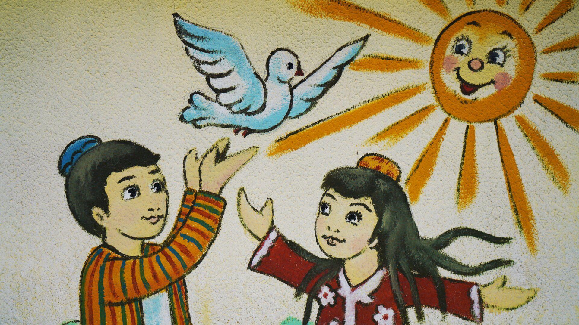 Оформление детского сада, архивное фото - Sputnik Тоҷикистон, 1920, 07.10.2021