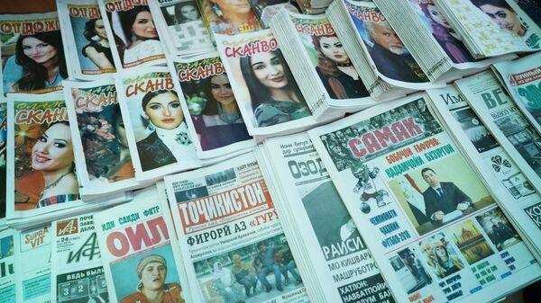 Газеты, архивное фото - Sputnik Тоҷикистон