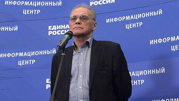 Политолог, член экспертного совета Института социально-экономических и политических исследований Алексей Зудин - Sputnik Таджикистан