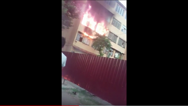Пожар в жилом доме в Ташкенте - Sputnik Таджикистан