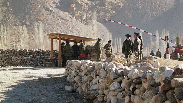 КПП на границе Таджикистана - Sputnik Таджикистан