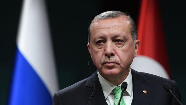 Президент Турции Реджеп Тайип Эрдоган, архивное фото - Sputnik Таджикистан