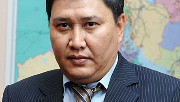 Зампредседателя правления по транспортировке, переработке и маркетингу нефти национальной компании Казмунайгаз Данияр Тиесов - Sputnik Таджикистан