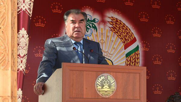 Президент Республики Таджикистан Эмомали Рахмон, архивное фото - Sputnik Тоҷикистон