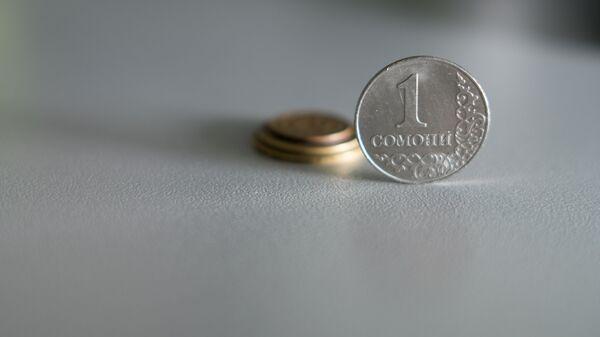 Монета один сомони, архивное фото - Sputnik Таджикистан