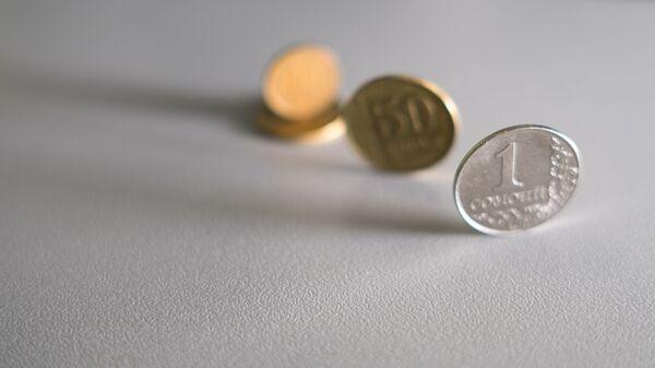 Монеты, архивное фото - Sputnik Таджикистан