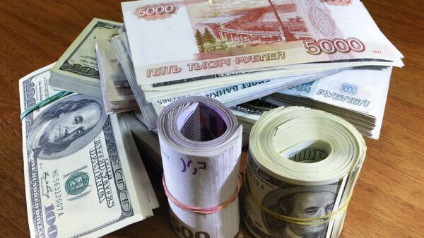 Денежные купюры и монеты разных стран - Sputnik Таджикистан