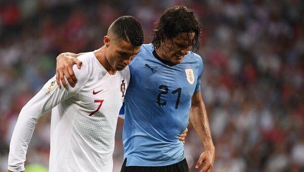 Футбол. ЧМ-2018. Матч Уругвай - Португалия - Sputnik Таджикистан