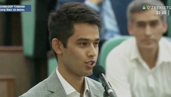 Шавкат Мирзиёев предложил студенту 3 курса Международного Вестминстерского университета в Ташкенте должность зампреда Госкомтуризма - Sputnik Таджикистан