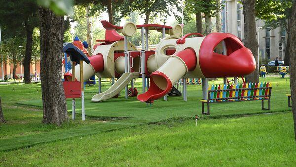 Обновленный Детский парк в Душанбе, архивное фото - Sputnik Тоҷикистон
