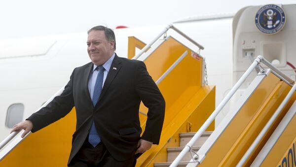 Госсекретарь США Майк Помпео  - Sputnik Тоҷикистон