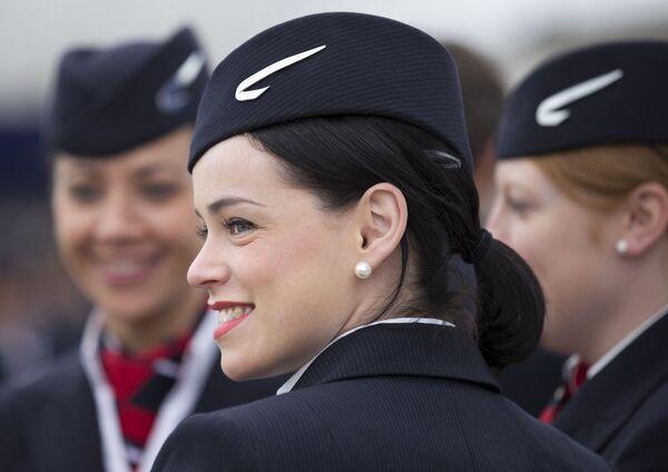 Стюардессы British Airways в аэропорту Лондона - Sputnik Таджикистан