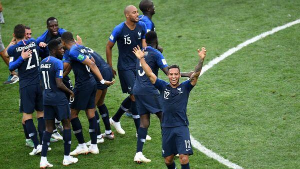 Футбол. ЧМ-2018. Финал. Матч Франция - Хорватия - Sputnik Таджикистан