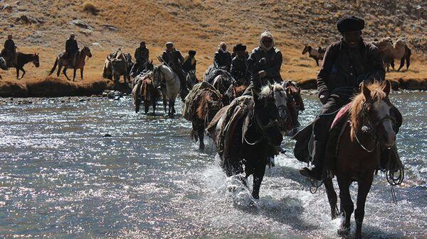 Памирские кыргызы, архивное фото - Sputnik Таджикистан