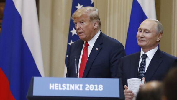 Дональд Трамп и Владимир Путин - Sputnik Таджикистан