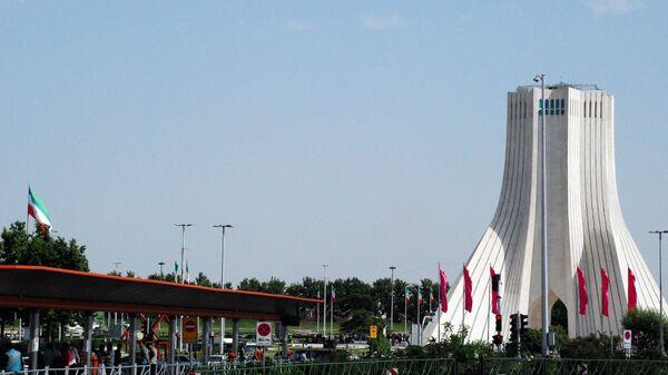 Башня Азади в Тегеране - Sputnik Тоҷикистон